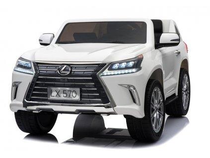 elektrické autíčko lexus bílé (4)