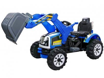 dětský elektrický traktor s radlicí (8)