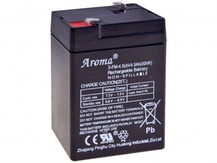 Baterie 6V 4,5Ah