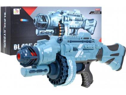 Velký automatická pistole Blaze Storm s 40 náboji