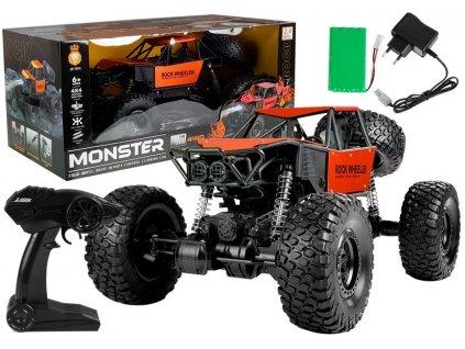 Auto na dálkové ovládání Monster Truck 4