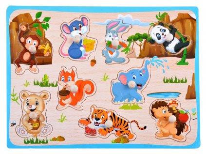 dřevěné puzzle(3)