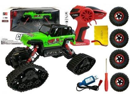 pol pl Jeep Zdalnie Sterowane Terenowe R C Zielony 4x4 4892 1