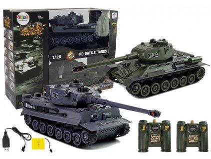 RC tank na dálkové ovládání (1)