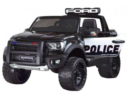 Destke elektricke auticko Ford Raptor policie 4x4 (2)