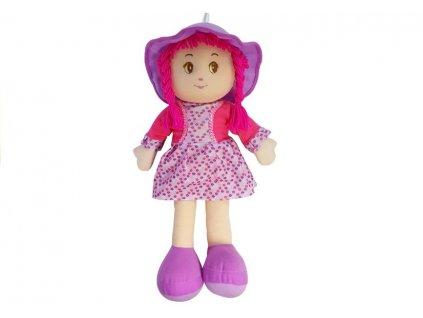 Plyšová panenka 50 cm fialová