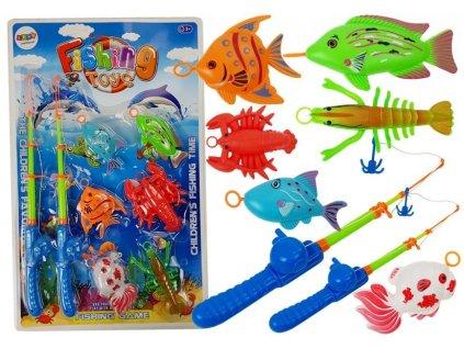 Hra chytání rybiček