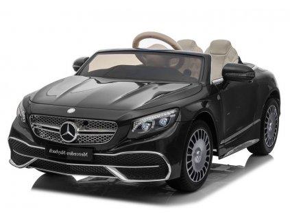 Elektrické autíčko Mercedes Maybach černé 1