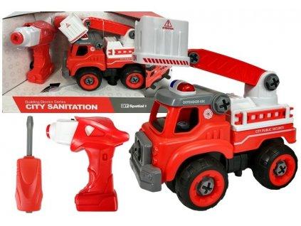 Konstrukční sada hasičský vůz s nářadím 2