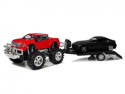 Auto Monster Truck s odtahovým vozidlem 58 cm 13