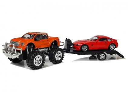 Auto Monster Truck s odtahovým vozidlem 58 cm 11