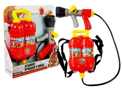 Hasičská sada s vodní pistolí