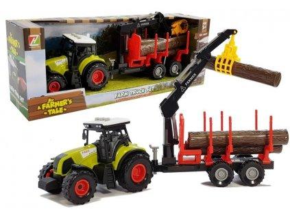 traktor s vlečkou (1)