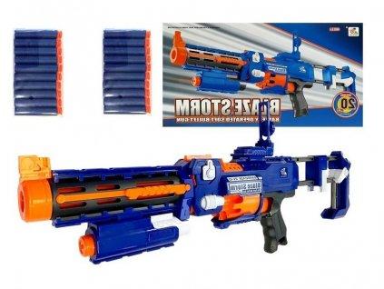 Velká pistole Blaze Storm na pěnové náboje