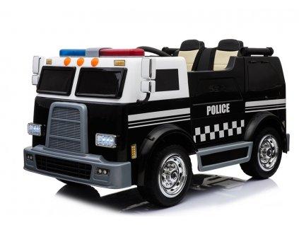 elektrické požární auto černé (1)