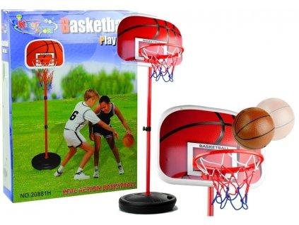 Velká basketbalová sada koš a míč 1