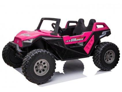 Dětské elektrické auto Buggy 4x4 SX MP4 růžové 3