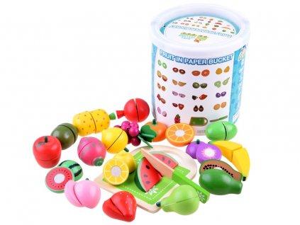 dřevěné potraviny do dětské kuchyňky (1)