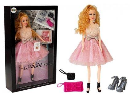Světlovlasá panenka 28 cm