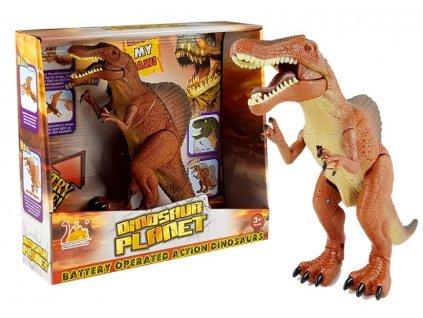 dinosaurus tyrannosaurus hnědý (1)
