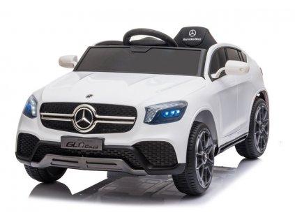 Elektrické autíčko Mercedes GLC Coupe bílé 3