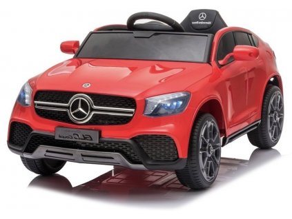 Elektrické autíčko Mercedes GLC Coupe červené