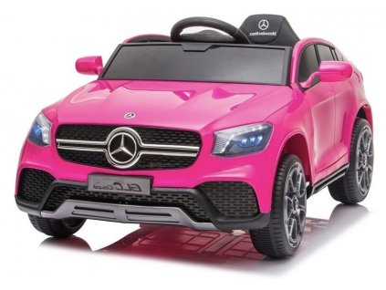 Elektrické autíčko Mercedes GLC Coupe růžové