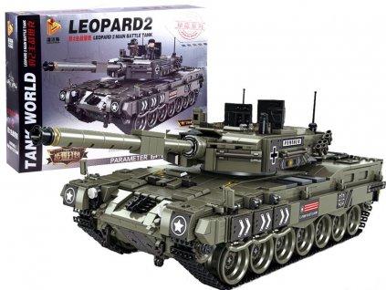 Stavebnice tank Leopard 1747 dílů 1