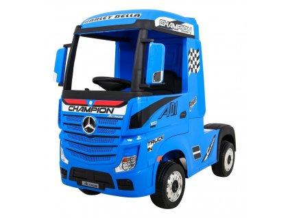 Elektrické autíčko kamion Mercedes Benz Actros modré