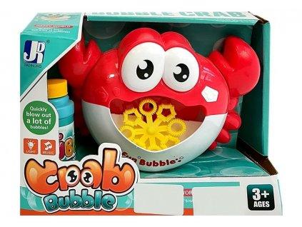 Krab na výrobu mýdlových bublin červený 3