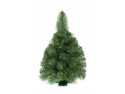 Umělý vánoční stromeček 50 cm zelený dekorativní