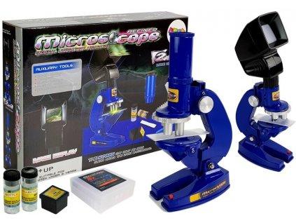 Dětský mikroskop modrý