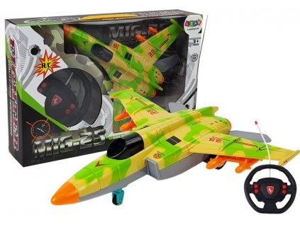 Letadlo na dálkové ovládání zelené
