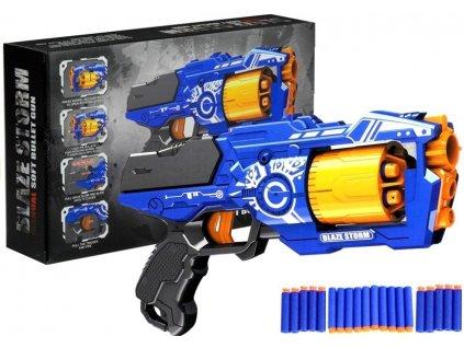 Pistole na pěnové náboje s velkým zásobníkem