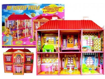 Domeček pro panenky s nábytkem 5