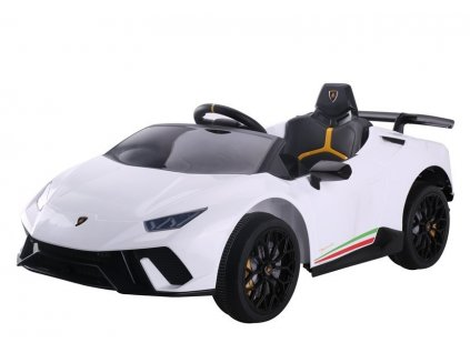 Dětské elektrické autíčko Lamborghini Huracan bílé 1