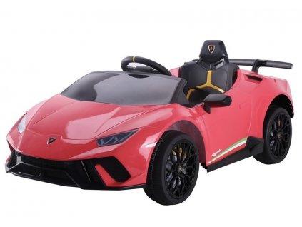 Dětské elektrické autíčko Lamborghini Huracan červené