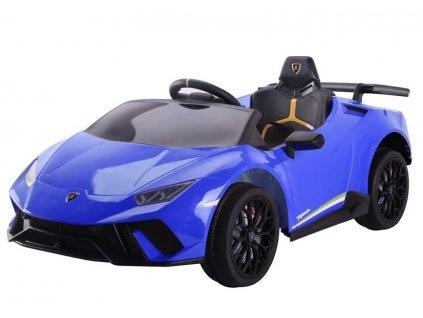 Dětské elektrické autíčko Lamborghini Huracan modré