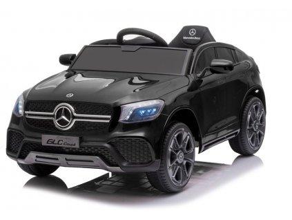 Dětské elektrické autíčko Mercedes GLC Coupe lakované černé 2