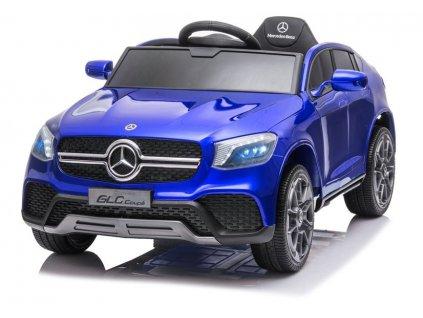 Dětské elektrické autíčko Mercedes GLC Coupe lakované modré 1