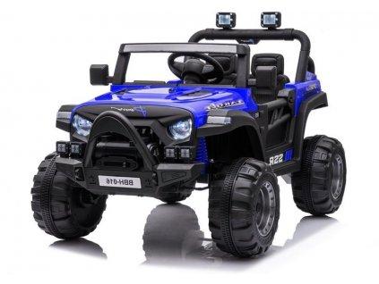 Dětské elektrické autíčko Power modré 1