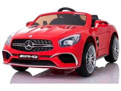 Elektrické autíčko Mercedes SL65 LCD červené 7
