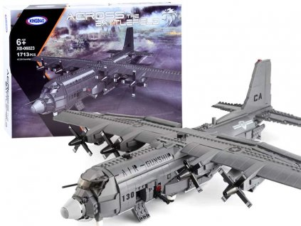stavebnice vojenské letadlo (1)