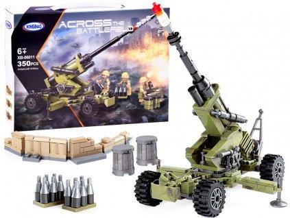 stavebnice vojenské dělo