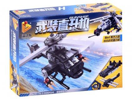 technická stavebnice vojenská helikoptéra