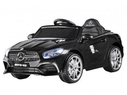 Dětské elektrické autíčko Mercedes S63 AMG růžové 12