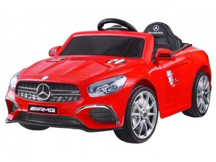 Dětské elektrické autíčko Mercedes S63 AMG růžové 3