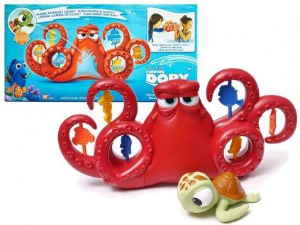 Chobotnice Hank a želva do koupele z pohádky Hledá se Dory (2)