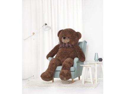 Velký plyšový medvěd Bueno hnědý 170 cm