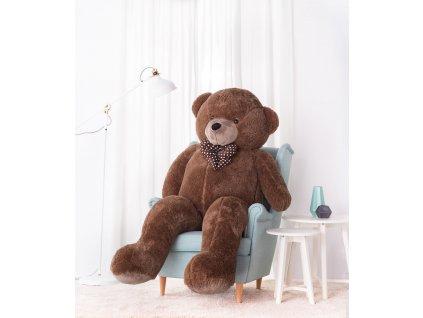 Velký plyšový medvěd Bueno hnědý 190 cm 1